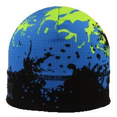 Funkční čepice s barevnými fleky zelená-modrá RDX