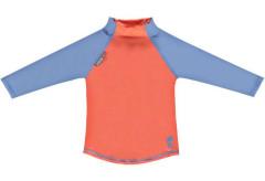 Pop-in triko UV filtr dlouhý rukáv Coral/Cornflower Vel. XL (24 - 36 měsíců)