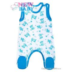Kojenecké dupačky New Baby Zebrababy II modré
