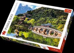 Puzzle Trefl Jezero Černého draka 500 dílků 48x34cm