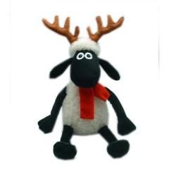 Ovečka Shaun s parohy a šálou