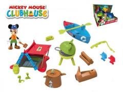 Mickey Mouse sada na piknik s kloubovou figurkou 8cm a doplňky