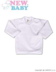 Kojenecká košilka New Baby Classic s bílou výšivkou zavinovací vel. 50