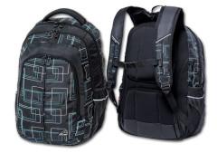 Studentský batoh Frame Black Walker