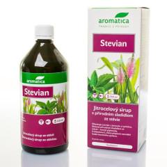 Jitrocelový sirup Stevian bez cukru od 3 let 210ml