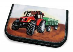Školní pouzdro 2-klopy plněné Traktor Emipo