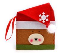 Vánoční obálka 12x15 cm