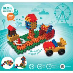 Stavebnice Blok Twister 1 - 155 dílků