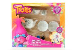 Trolls čajový set vybarvovací