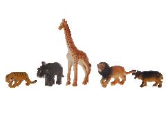 Divoká zvířata 5ks