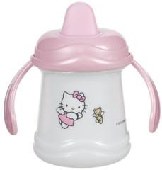 Nácvikový hrníček s oušky Hello Kitty 6 m+
