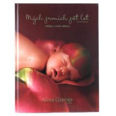 Kniha Mých Prvních Pět Let Anne Geddes - Růže - X-Large