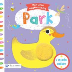 Leporelo Moje první dotyková knížka Park
