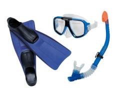 Potápěčská sada od 6 let šnorchl + brýle + ploutve