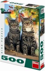 Puzzle Koťátka 33x47cm 500 dílků