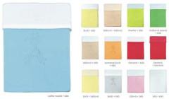Deka bavlna + microfleece 100 x 70 cm s výšivkou Emitex