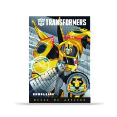 Desky na abecedu Transformers ŽLUTÝ BUMBLEBEE