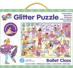 Třpytivé puzzle - baletní třída