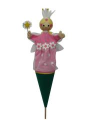 Víla květinová růžová 55cm velký Moravská Ústředna