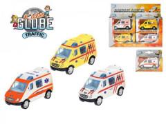 Auto Ambulance 8cm kov zpětný chod