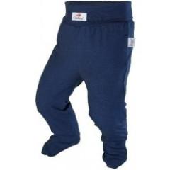 Kalhoty s ťapkami tenké ANGEL - Outlast® TM.MODRÉ
