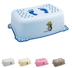 Protiskluzový stupínek - stupátko k umyvadlu Krtek a paraplíčko