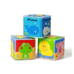 Edukační kostky mini babyono 3ks