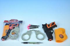Pistole s přísavkami + doplňky