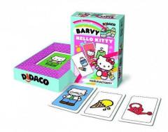 Vzdělávací karty Didaco Barvy - Hello Kitty