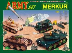 Stavebnice MERKUR Army Set 657ks