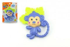 Kousátko/chrastítko opice 3m+