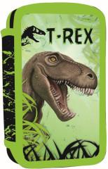 Dvoupatrový penál neplněný T-rex 2016