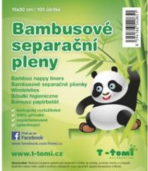 Bambusové separační pleny T-Tomi