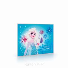 Desky na číslice Frozen 2018