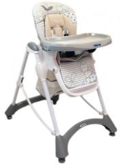 Jídelní židlička Baby Mix grey