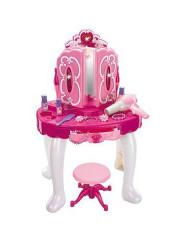 Dětský toaletní stolek se židličkou