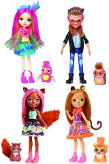Enchantimals panenka a zvířátko FNH22 Mattel