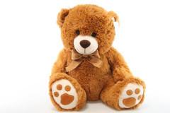 Plyšový medvěd hnědý 58 cm
