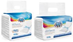 Vysoce absorbční tvarované vložky po porodu 10ks + noční vložky 10 ks VÝHODNÉ BALENÍ