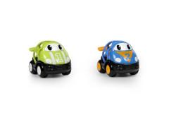Autíčko závodní Herbie a Tom Oball Go Grippers 18m+, 2ks