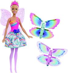 Barbie létající víla s křídly blondýnka