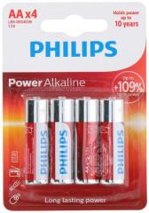 Baterie Philips AA (LR6) 1,5V 4 ks