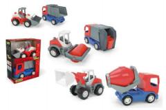 Auta stavební Tech truck 2v1 35370 Wader