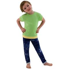 Dětské tričko jednobarevné Zelené