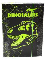 Desky na sešity Heft box A4 Premium Dinosaurus NEW 2017