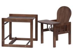Dřevěná židlička - Scarlett kombi - masiv borovice - wenge
