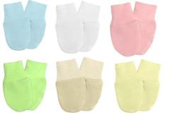 Kojenecké rukavičky pro novorozence úplet Babyrenka