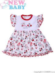 Kojenecké šaty New Baby Beruška vel. 80