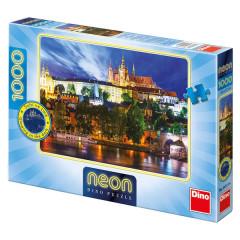 Puzzle Letní noc v Praze - 1000 dílků - svítící