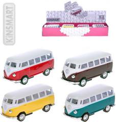 Volkswagen Classic autobus 1962 1:64 kov zpětný chod